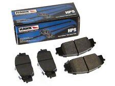 HAWK HPS STREET REAR BRAKE PADS FOR 1990 1991 HONDA CRX SI 1.6L