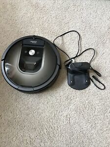 iRobot Roomba 980 Wi-Fi Voice Assisted Robot Vacuum, used