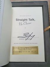 STEVE HARVEY signed first edition autographed book STRAIGHT TALK,NO CHASER