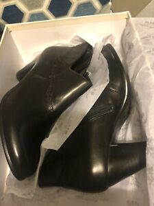 Spring Step Quiet Boots Black New