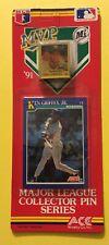 1991 M.V.P. Collector Pin Series Ken Griffey Jr. Mariners & Nolan Ryan Rangers