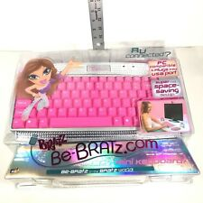 New Bratz Be-Bratz.com Mini Keyboard PC Compatible USB Port MGA Notebook&Laptop
