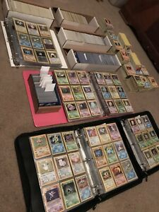 Vintage 1999 Pokemon Card Lot - 30 Cards! 1st Editions, Rares, Shadowless Cards