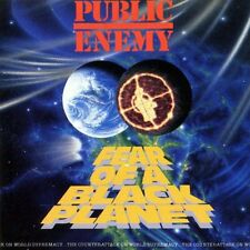 Public Enemy - Fear Of A Black Planet -- Mini Poster & Black Card Frame