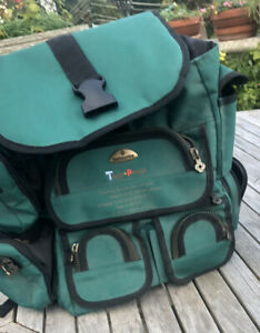 Samsonite Green  Backpack  Loads of  Handy Compartments Travel Partner NEW