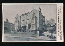 Somerset WESTON-SUPER-MARE Madeira Hotel Advert PPC 1935