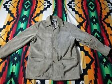 banana republic Mens leather Jacket Size XL