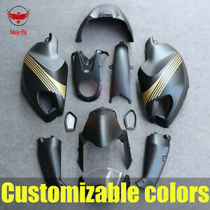 ABS Fairing Bodywork Panel Kit Set Fit for Ducati Monster 696 796 1100 1100S EVO