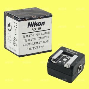 Nikon AS-10 TTL Multi-Flash Adapter for SC-23 SC-18 SC-26 SC-19 SC-27 SB-600 800