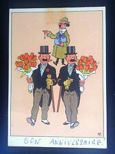 Ancienne carte postale Casterman Tintin