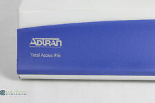 Adtran 4212916L1 with Wall Mounts and Console Cable