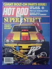 HOT ROD - SUPER STREET - July 1983 vol 36 #7