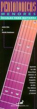 Minor Pentatonic Scales for Guitar - Spanish Edition Pocket Guide NEW 000695272