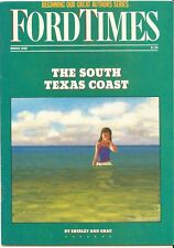 Ford Times March 1989 News Marry Hillyer Savannah Shirley Ann Grau  T-Bird SC
