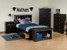 BOYS NAME SKATEBOARD Vinyl Sticker Wall Decal Room 36""