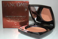 Lancome Trópicos minerales mineral smoothing bronzing Powder 01 ochre doree