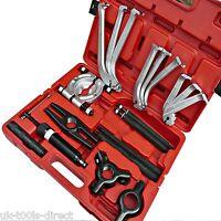"Hydraulic Gear Bearing Puller Set 4"" 6"" 8"" 3 & 2 Leg Internal External 12 IN 1"