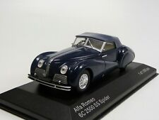 Alfa Romeo 6C 2500 SS Spider blau  Whitebox WB219 Neu in OVP 1/43