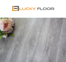 12mm Grey Oak  Laminate Flooring Floating Timber  Floor boards Click DIY