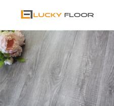 12mm Grey Oak  Laminate Flooring Floating Timber  Floor boards Click DIY