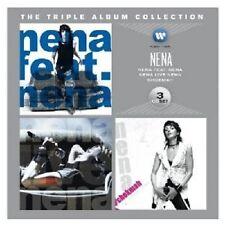 Nena-the triple album collection (Nena feat. Nena/Nena Live/Chokmah) 3 CD NEUF