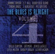 Blues Is Alright Vol 4 - Various Artist - New factory Sealed CD