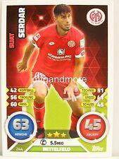 Match Attax 2016/17 Bundesliga - #244 Suat Serdar - 1. FSV Mainz 05