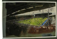 12 x 8 inch photo personally signed by 15 of the Birmingham City 2013-14 squad.