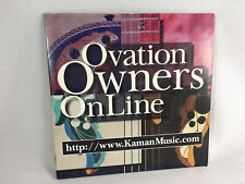 Ovation Owners on Line Koman Number 18 1996 Brain Setzer Finger Style Guitar CD