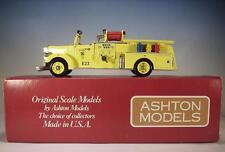 Ashton Models 1/43 No.43G Mack LT 1000 Gal, Pumper Glendale Ca. (1954) OVP #14