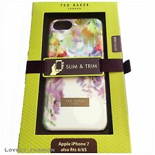 Boxed Ted Baker IPhone 8 & 7 6 6S Brand NEW Case Cover Hanging Gardens White