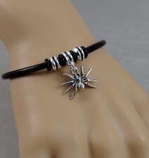 Spider Bracelet - Spooky Spider Tarantula Charm Bracelet - Bug Jewelry NEW
