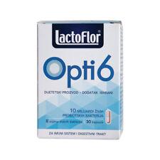 Lactoflor Opti6 Capsules probiotic + prebiotic immune system booster 30 pills