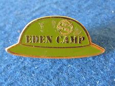Enamel Badge - Eden Camp - Helmet - WW2 Military Museum