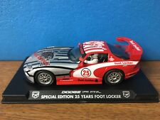 Rare FLY E82 Dodge Viper GTS-R Special Edition 25 Years Foot Locker NEW IN CASE