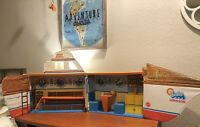 Vintage 1974 BARBIE DREAM BOAT MATTEL Playset
