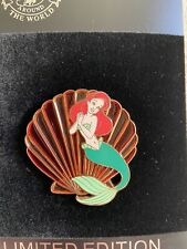 Disney Shopping Ariel Little Mermaid Stained Glass Icon Series Le 250 Pin