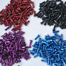 100psc Bicycle 7075 Alloy Spoke Nipples 14G 2.0mm 14mm Long Red Black Blue Purp