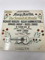 Sound Of Music Mary Martin Original Broadway Cast Vinyl Record LP 1959 KOL5450