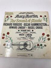 Sound Of Music Mary Martin Original Broadway Cast Vinyl Record LP 1959 KOL5450