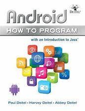 Android How to Program (How to Program Series) by Paul Deitel, Harvey Deitel, A
