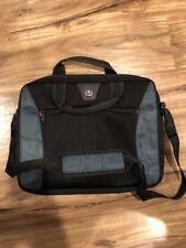 "Swissgear Black SHERPA 16"" Computer Slimcase laptop tablet case bag sleeve"