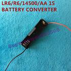 one slot plastic converter holder clip for 1.5V AA R6 LR6 14500 3.6V 3.2V cell