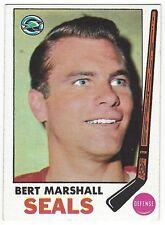 1969-70 TOPPS HOCKEY #80 BERT MARSHALL - EX-/EX