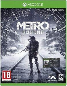XBOX ONE Metro Exodus UNCUT NEUWARE OVP