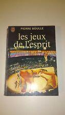 Pierre Boulle - Les jeux de l'esprit - J'ai Lu (1975)
