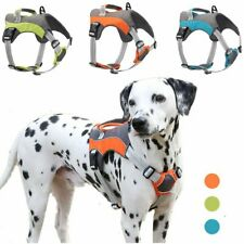 Dog Harness Extra Large Medium Reflective Durable Nylon Mesh No Pull Dog Handle