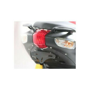4450447 - Support de plaque R&G RACING noir Aprilia SR50