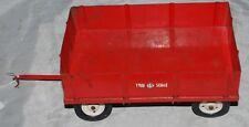 IH Farmall McCormick Tru Scale Eska Carter Farm Trailer Toy 1954 Barge Wagon