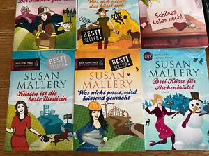 Susan Mallery , sechs Bücher + Zugabe